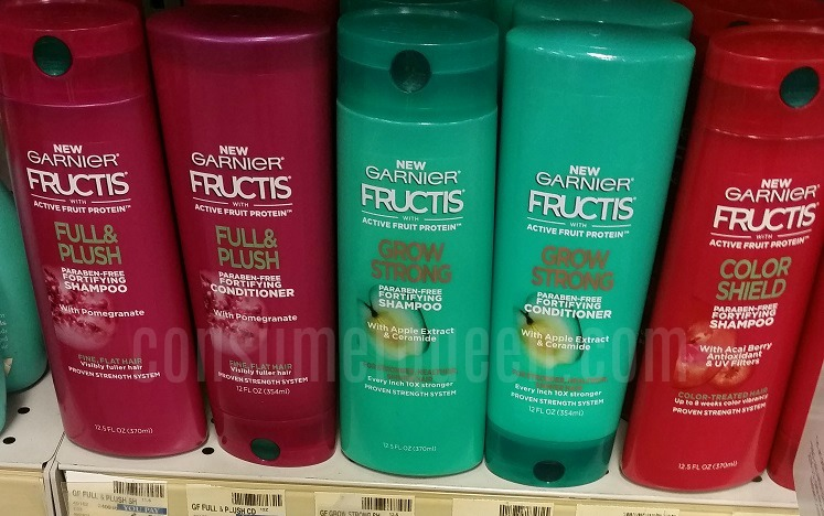 garnier fructis shampoo and conditioner  1 00 at cvs