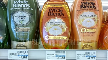 Garnier Whole Blends Shampoo 75¢ Per Bottle at CVS!