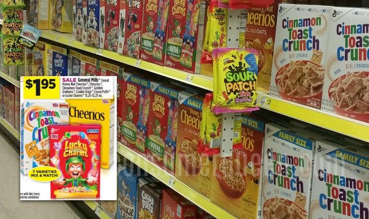 General Mills Cereals $1.45 at Dollar General This Week!