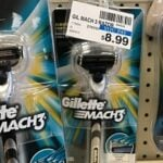 Gillette Mach3 Razor ONLY $2.99 at CVS (reg. $8.99)
