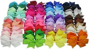 Hair Bow Clips 40-ct. ONLY $9.99 (Reg. $19.99) on Amazon