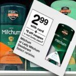 TWO Free Mitchum Deodorant at Walgreens This Week!
