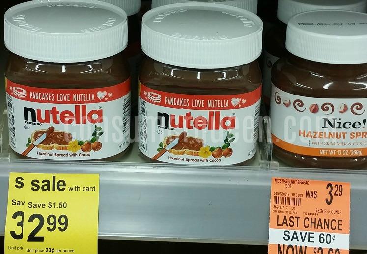 Walgreens: Get Nutella Hazelnut Spread For $1.49 Thru 8/5