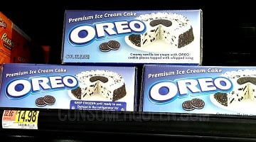 Oreo Ice Cream Cake as Low as $4.73 at Walmart After Cash Back!
