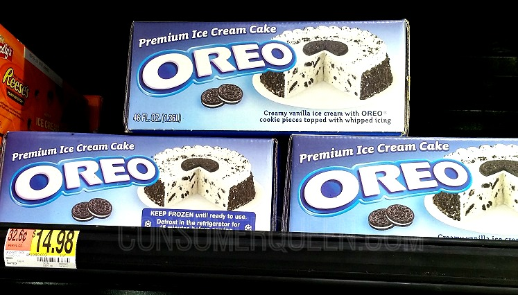 Oreo Ice Cream Cake As Low 473 At Walmart After Cash Back
