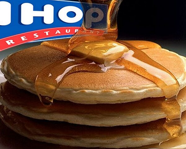 pancake short stacks at IHOP