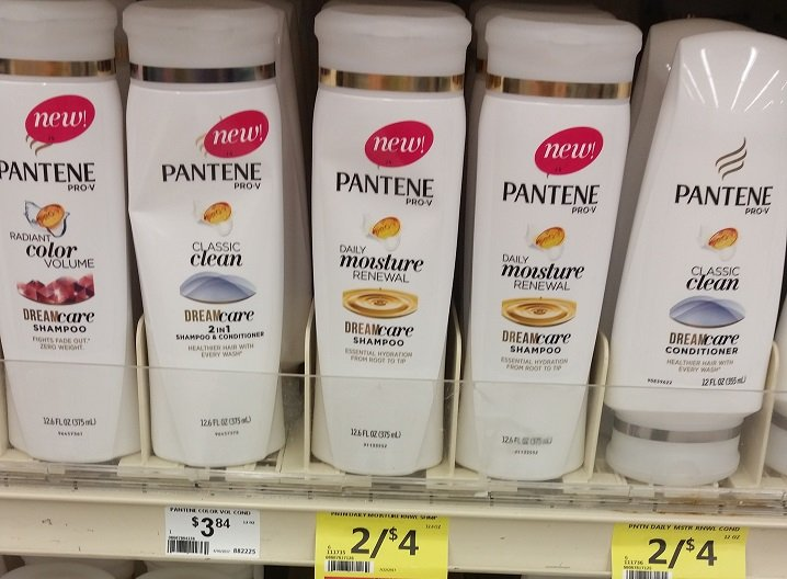 Pantene Shampoo & Conditioner 33¢ Each at Crest Foods!