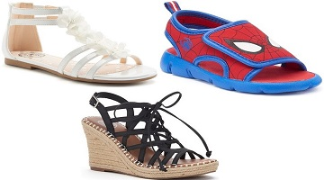 Kohl's: End of The Season Sandal Sale Save up to 60%