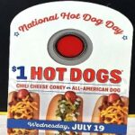 Sonic: National Hot Day- $1 Hot Dogs All Day 7/19