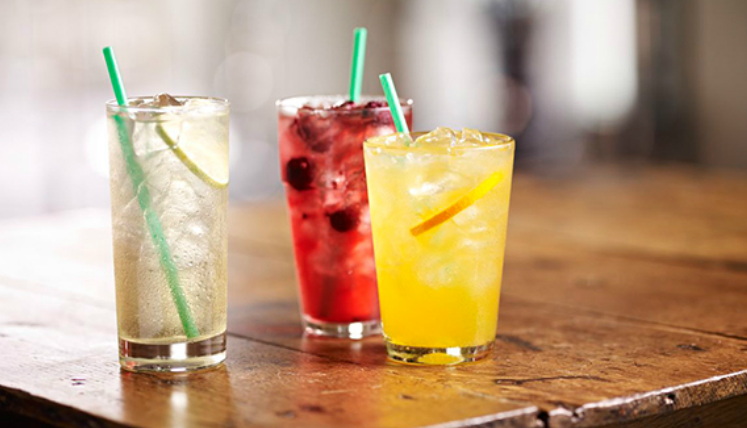 Starbucks Happy Hour - Grande Teavana or Refresher $2 50