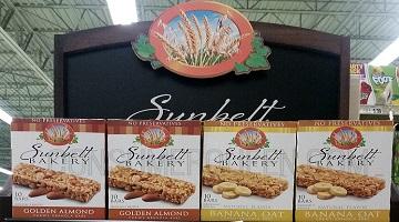 Sunbelt Bakery Granola or Fruit Bars 25¢ at Homeland!