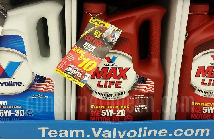 Valvoline Oil – 5 Quart Jug as low as $4.22 After Rebate!