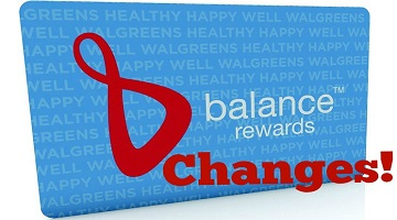 Walgreens Changing Balance Rewards – What You Need to Know!