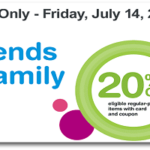 Friends & Family Sale at Walgreens – 20% Off Coupon
