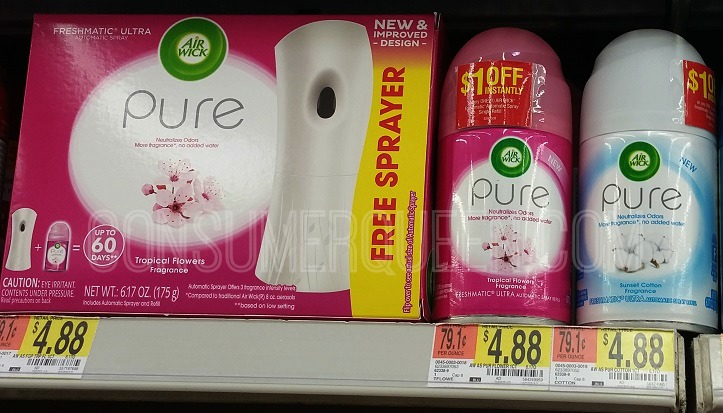 FREE Air Wick Freshmatic Pure Refill After Mail-In Rebate!