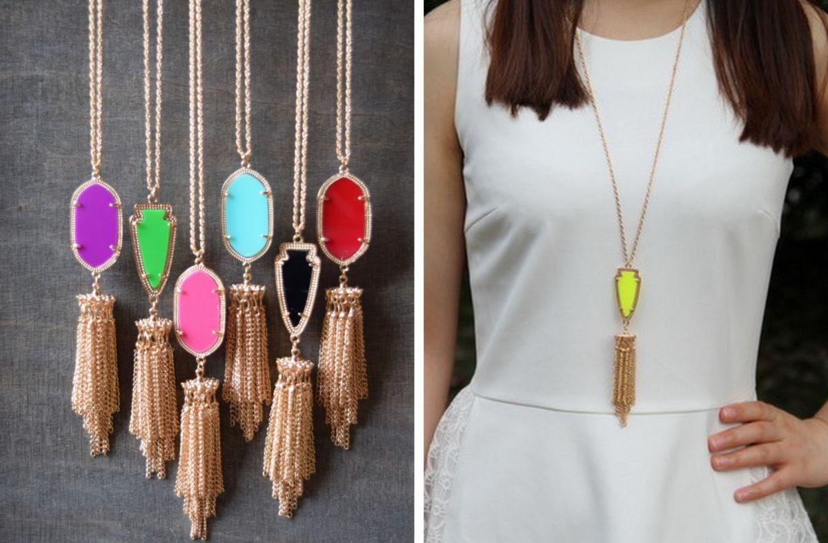 Style Alert! Kendra Scott Knock-Off Jewelry Under $3.00!