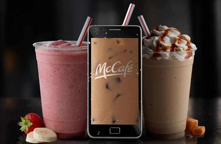 McDonald's: Free McCafe Shake, Frappe or Sundae W/Any Purchase
