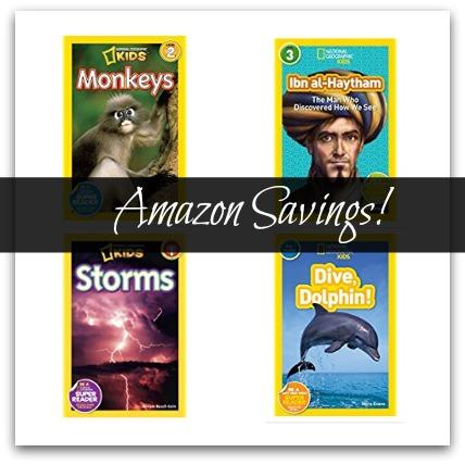 Amazon: National Geographic Readers $1.39 (Reg. $3.99)