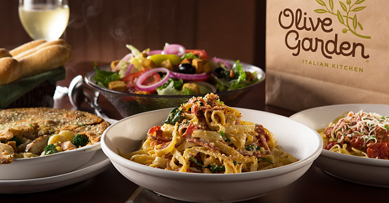 olive garden buy one take one dinners starting at
