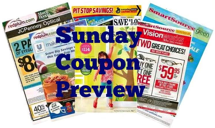 Sunday Coupon Preview 10/21/17 – TWO Inserts Coming!