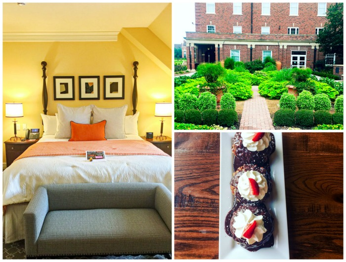 The Atherton Hotel Collage
