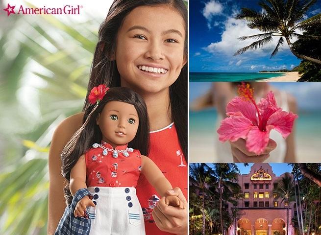 American Girl: Enter to Win a Nanea Doll OR a Trip to Hawaii!