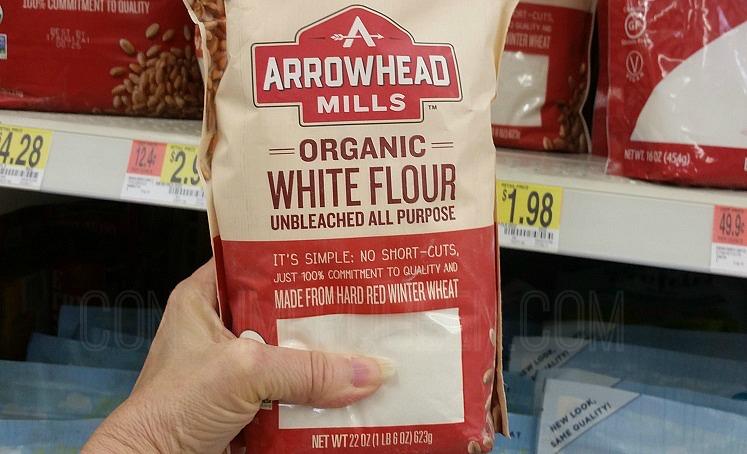 Arrowhead Mills Organic All Purpose Flour Only $1.43 at Walmart!