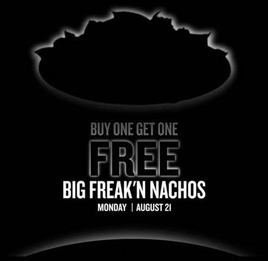 Taco Bueno: B1G1 Free Big Freak'n Nachos – Today Only