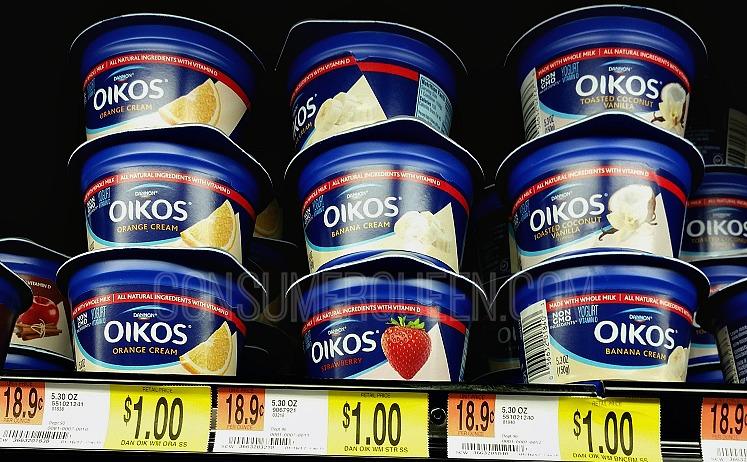 Dannon Oikos Yogurt Cups FREE at Homeland, 50¢ at Walmart!