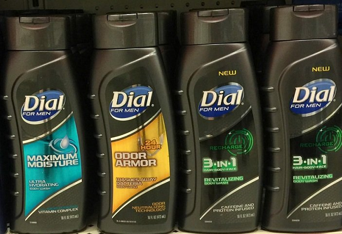 Dial Body Wash for Men Only 60¢ at Target After Gift Card!