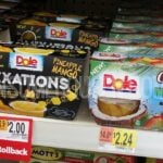 Dole Fruit Cups 4-pk as Low as $1.24 at Walmart (31¢ per Cup)