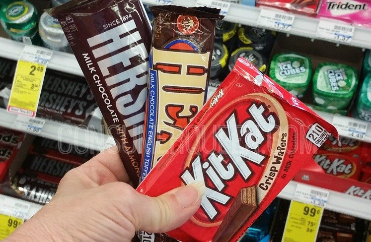 Heshey Candy: Kit Kat, Reese's, Heath & More Only 24¢ at CVS!