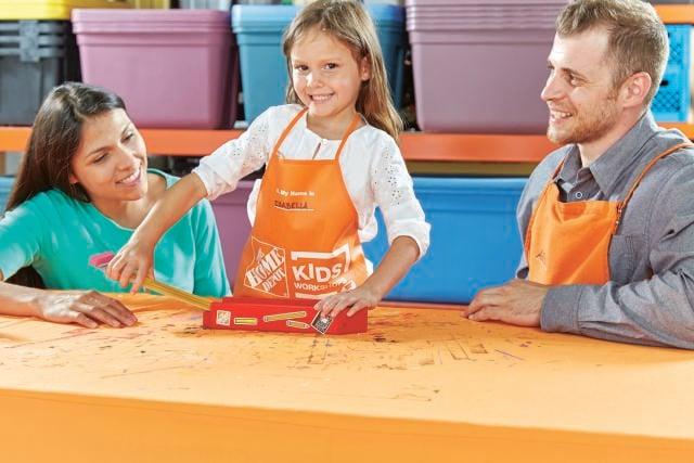 Home Depot : FREE Kids Workshop Coming – Build a Pencil Box!