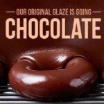 Krispy Kreme: Original Glaze Goes Chocolate During Eclipse!