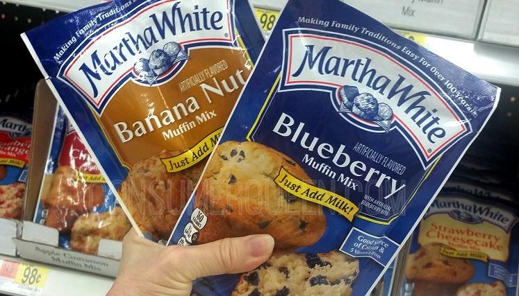 Martha White Baking Mixes as Low as 73¢ Each at Walmart!
