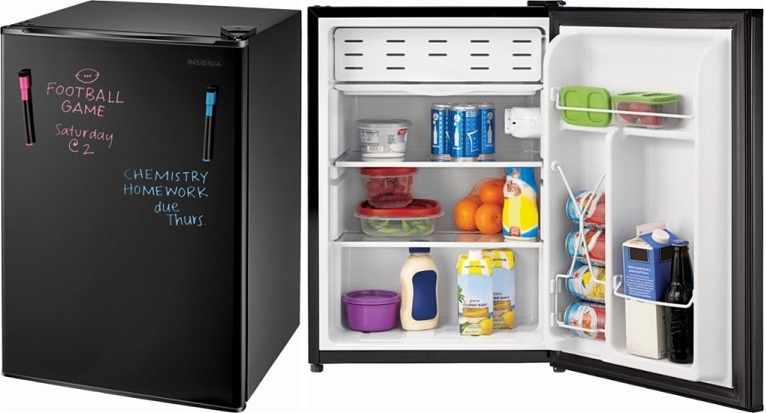 Best Buy: Insignia 2.6 Cu. Ft. Mini Fridge $79.99 - Today Only