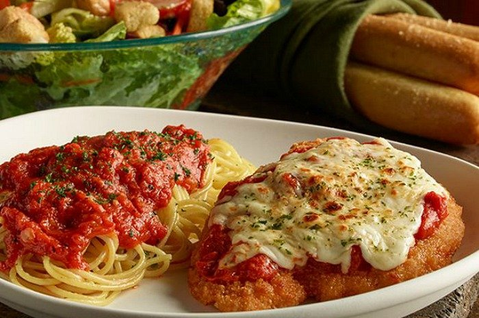 Olive Garden Early Dinner Duos Only Monday Thursdays