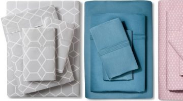100% Organic Sheet Sets on Sale at Target.com + 15% Off Code!