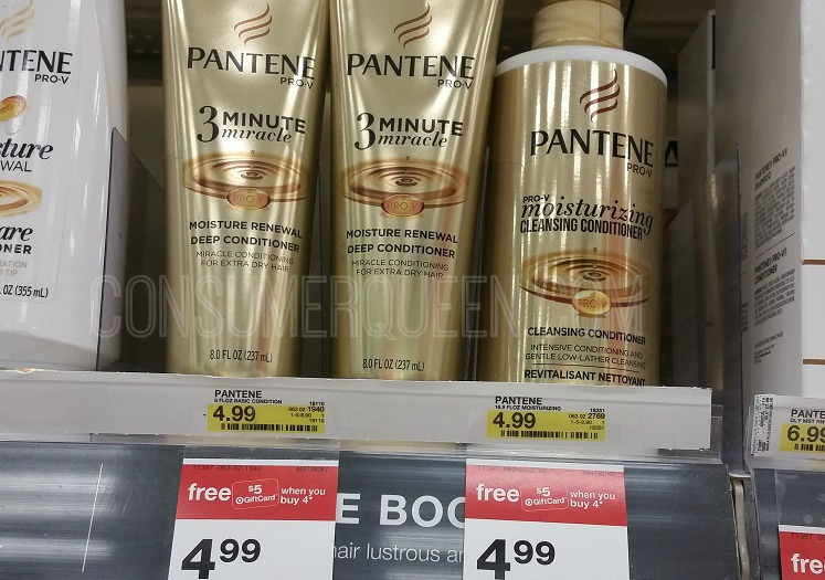 Pantene Hair Care As Low As 75 Each At Target Today Only