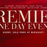 Pottery Barn Premier One Day Sale + FREE SHIPPING