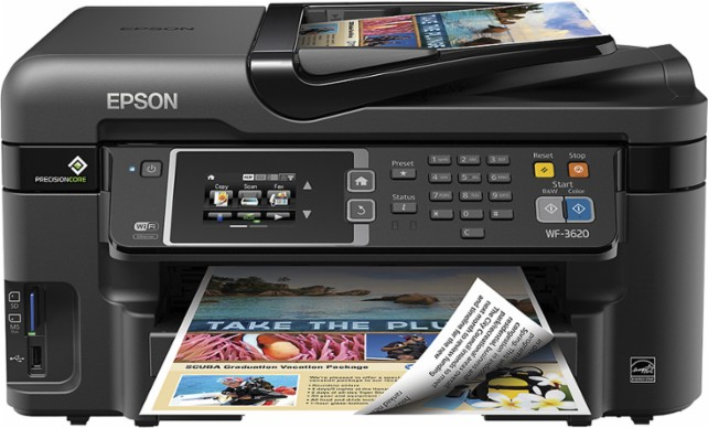 Best Buy: Epson Workforce All In One Printer $69.99 – Today Only