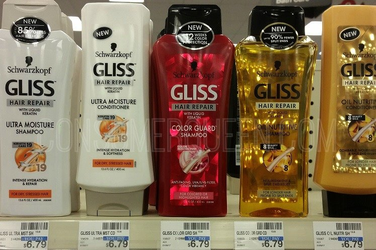 Schwarzkopf Gliss Hair Care Only $1.75 at CVS After Rewards