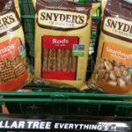 Snyder's Pretzels Full Size Bags 50¢ at Dollar Tree!