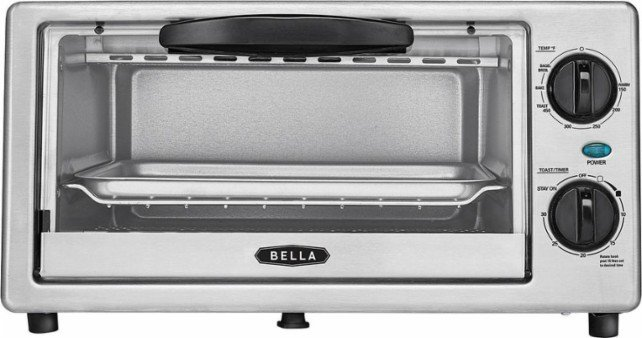 Best Buy: Bella 4 Slice Toaster Oven Only $14.99 – Today Only (3/21)