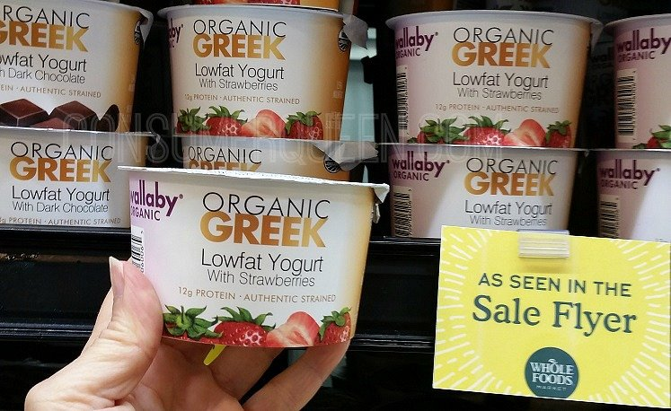 Wallaby Greek Yogurt Cups Only 75¢ at Whole foods (reg. $1.79!)