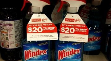 Nice Buy on Windex at Walmart + $20 Shutterfly Credit!