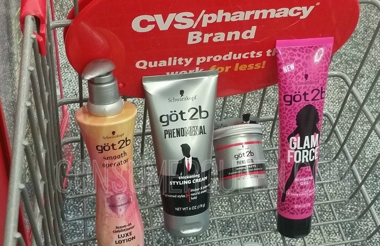 Got2b Hair Care Only 99¢ at CVS This Week (Regularly $4.99!)