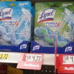Lysol Automatic & Cling Toilet Bowl Cleaners 25¢ Each at Walmart!