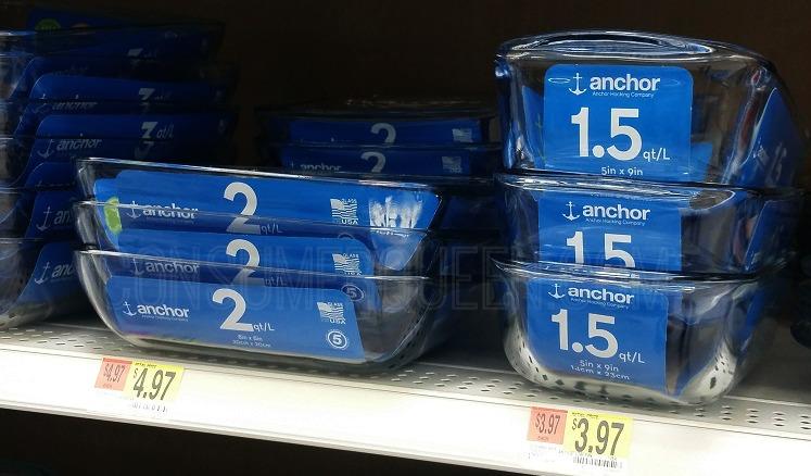 Anchor Hocking Coupons + Walmart Matchups (as Low as $2.97)
