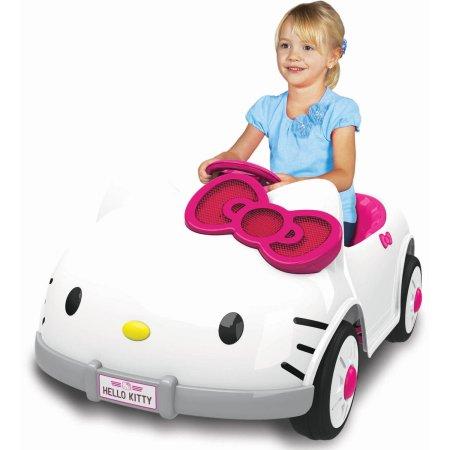 Walmart: Hello Kitty 6V Battery Ride On Only $79 (Reg.$229)